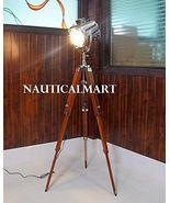 NauticalMart Classical Designer Chrome Finish Stand Tripod Floor Lamp Se... - $189.00