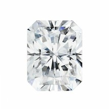 0.70CT Radiant Cut Moissanite Loose Stone G-H-I Color Charles and Colvar... - $395.99