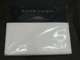 Ralph Lauren Norfolk Estate Bond Queen flat sheet - $72.70