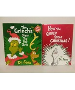 HOW THE GRINCH STOLE CHRISTMAS FLAP AND READING BOOK - FREE SHIPPPING! - $28.05