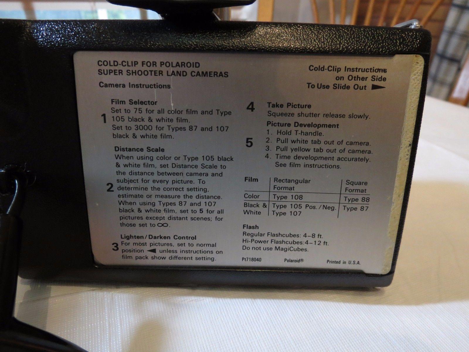 Polaroid Land Camera vintage Super shooter and similar items