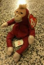 Monky Plush Vintage Ty Mc Donald's Teenie B EAN Ie Baby Schweetheart The Monkey - $2.48