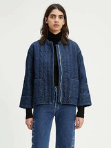 Levi's women's Made & Crafted Quilted Denim Jacket size Medium M retail ... - $151.42