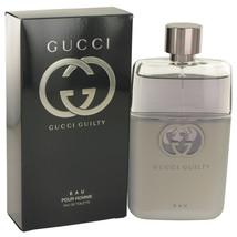 Gucci Guilty Eau by Gucci Eau De Toilette Spray 3 oz for Men - $94.95
