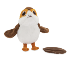Disney Star Wars Porg Mini Magnetic Shoulder Plush New with Tags - $19.82