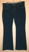 Women's Gap Jeans Size 12 Curvy Boot Cut Broken Zipper - $2.50