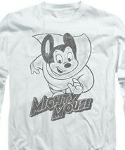 Mighty Mouse superhero Retro Saturday cartoon classics long sleeve tee CBS1136 image 4