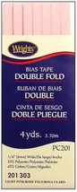 """Wrights ¼"""" Double Fold bias tape PC 201 - New in package - 4 Light Pink 201 303 - $6.55"""