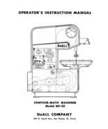 DoAll SAW  Model MP 20  Op Manual - $23.76