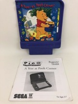 Pico Sega Game Cartridge A Year at Pooh Corner w Parent Guide Vintage 90... - $19.75