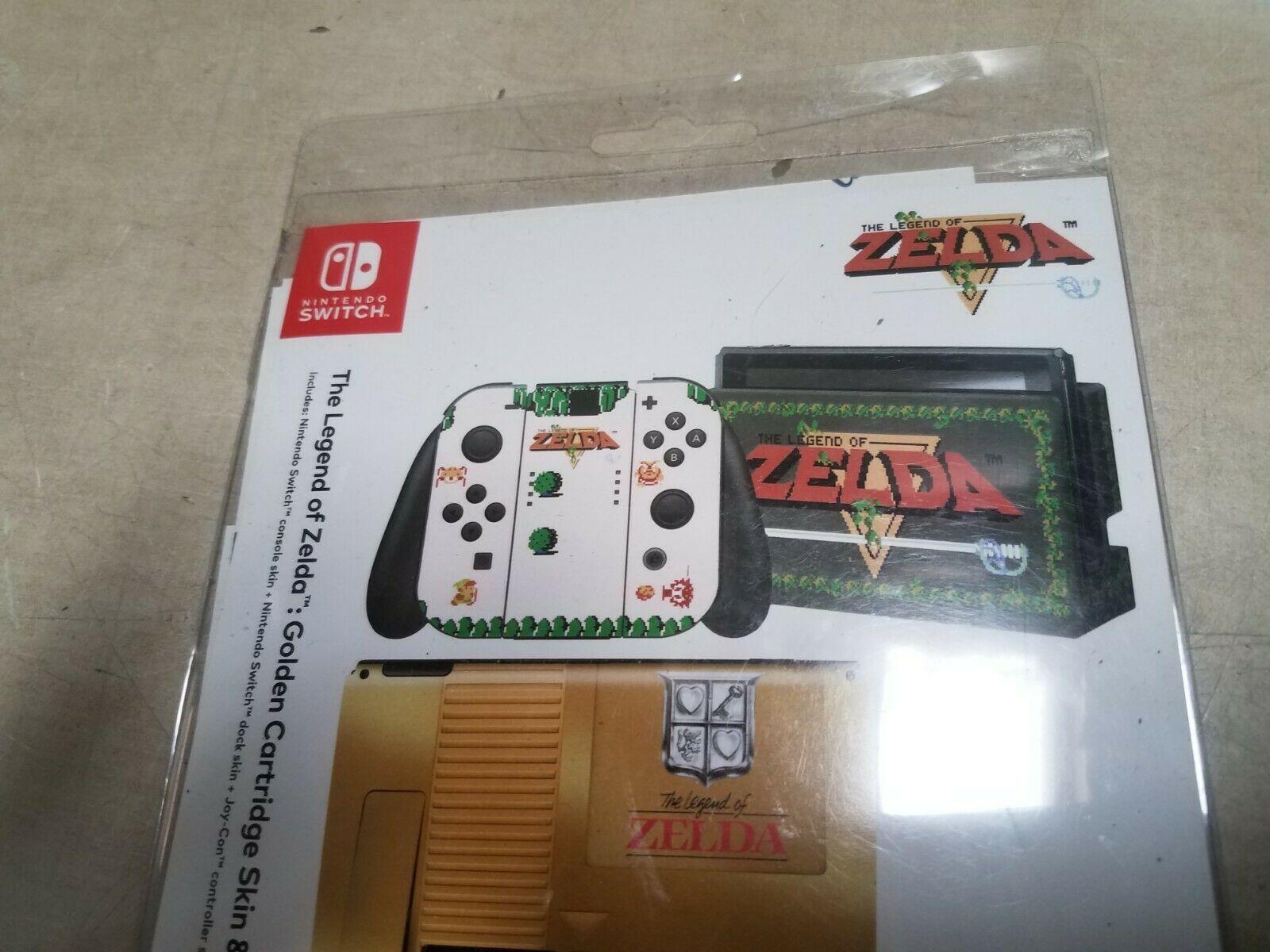 Nintendo Switch The Legend of Zelda Skin and Protector Set