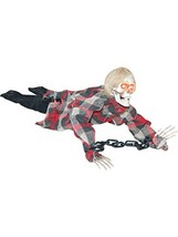 Sunstar Animated Reaper In Chains Halloween Prop - $19.15