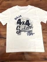 Gymboree White Safari Tee Shirt Sz: 5 NWT GYM8 - $15.88