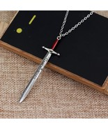 New Charm Design Game Of Thrones Sword Necklace Letter Opener Sword Pend... - $8.30
