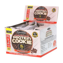 Muscletech  The Best Soft Baked Protein Cookie  Triple Chocolate  6 Cook... - $43.60