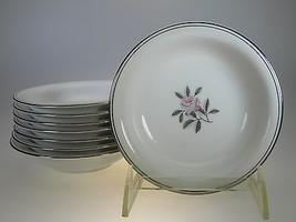 Noritake Rosales Fruit, Sauce or Dipping Bowls Set of 8 - $22.68