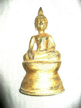 HOLY BIG ANCIENT BLESSED GOLD CHIANGRUNG LAOS STATUE ANTIQUE RARE THAI A... - $69.99