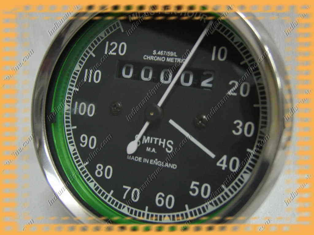 REPO CLASSIC SMITHS SPEEDO 120 M/HR~FOR VNTAGE BIKES~