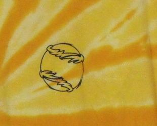 Mens NWOT Gildan Yellow and Gold Short Sleeve Baseball T Shirt Size 2XL