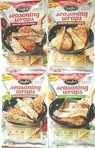 Stouffer's Cooking Creations Seasoning Wraps Variety Pack of 4 - $84.10