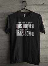 Be Nice To Bus Driver - Custom Men's T-Shirt (3246) - $19.13+