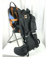 REI TAGALONG Kids Carrier Hiking Backpack Child Baby Orange & Black - L@... - £53.69 GBP