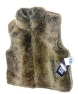 BILL BLASS FAUX-FUR REVERSIBLE VEST X-Large - $79.99
