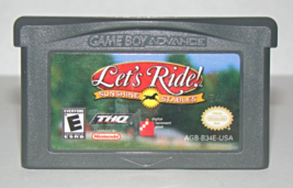 Nintendo GAME BOY ADVANCE - Let's Ride! SUNSHINE STABLES (Game Only) - $6.75
