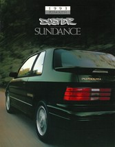 1993 Plymouth SUNDANCE DUSTER sales brochure catalog US 93 - $6.00