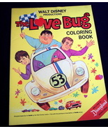 1969 Disney THE LOVE BUG Coloring Book Hunt's Catsup Ad - $12.95