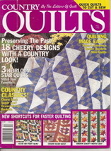 Country Quilts By The Editors of Quilt Fall 1998 Vol 15 No 2 - $3.00