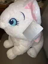 "Disney Store Marie Large Plush Aristocats White Cat 20"" Stuffed Animal NEW image 2"