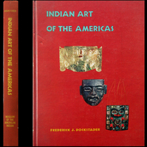 1973 Indian Art of the Americas - Dockstader 50... - $15.00