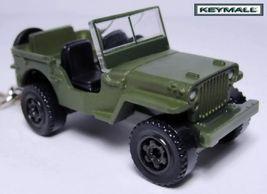 US Porte Cle Jeep Willys GPW WW2 USMC Green Camo Key chain - $24.98