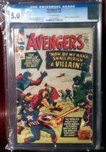Avengers (1963) # 15 CGC Graded 5.0 Very Good VG - $124.95