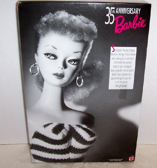 Barbie 35th Anniversary Special Edt Reproduction Doll MIB