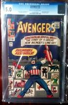 Avengers (1963) # 16 CGC Graded 5.0 VG Very Good - $168.99