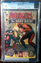 Avengers (1963) # 22 CGC Graded 7.5 VF- - $119.99