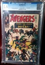 Avengers (1963) # 24 CGC Graded 5.5 FINE- - $54.99