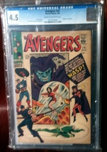Avengers (1963) # 26 CGC Graded 4.5 VG Very Good - $49.95