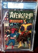 Avengers (1963) # 33 PGX Graded 8.5 VF+ - $96.99