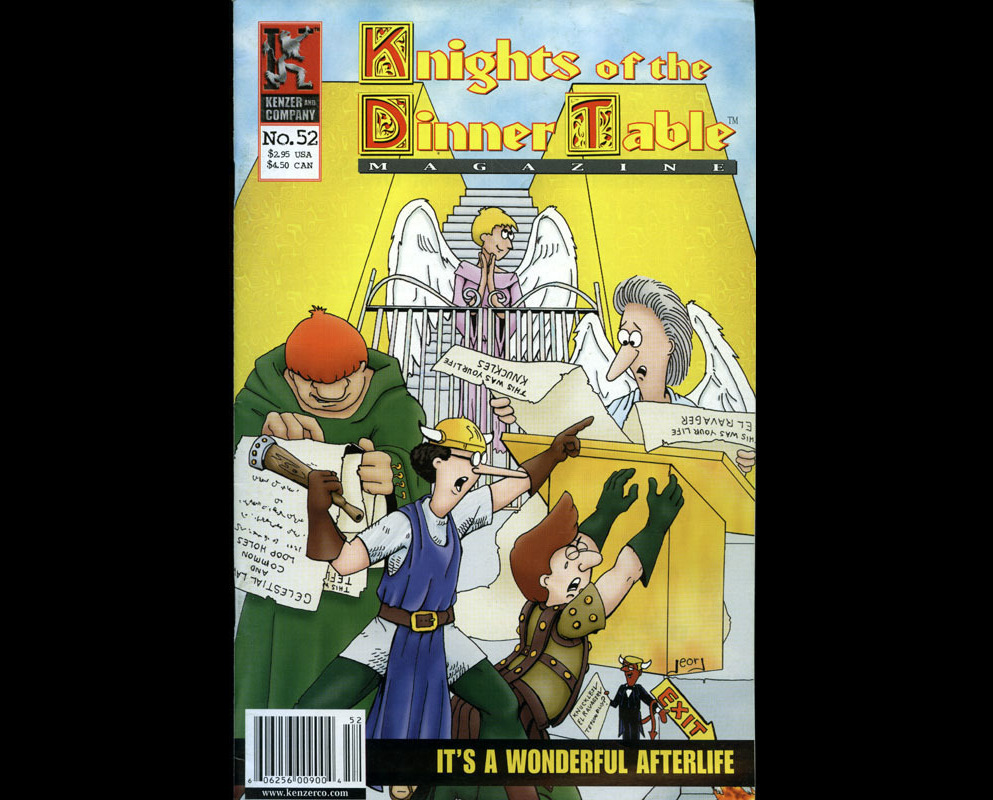 Knights of the Dinner Table KODT #52 VF RPG