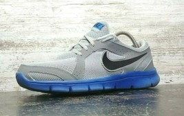 Mens Nike Flex Experience RN 2 Running Shoes SZ 9.5 M Used Gray Blue 599... - $34.65