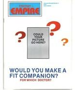 Fantasy Empire Magazine Collector's Edition #4 Doctor Who 1984 UNREAD VE... - $4.25