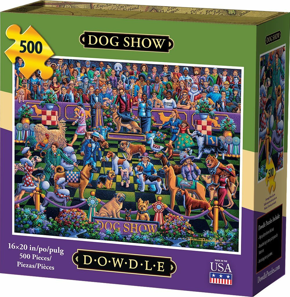 Dog show   traditional puzzle