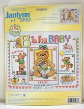 Janlynn Baby B is for Baby Birth Announcement Counted Cross Stitch Kit #... - $16.10