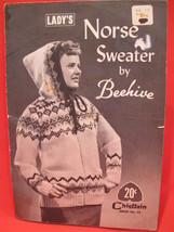 Vintage Chieftain Knitting Patterns Norse Cardigan Sweater ADULTS LADYS 14 - 18 - $6.95