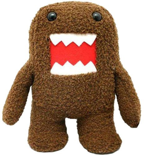 Domo Kun: Domo Kun 6 Inch Tall Plush Brand NEW!