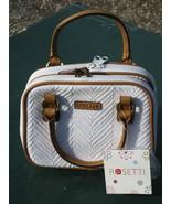 Rosetti White Weave Handbag Shoulderbag Purse N... - $15.00