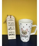 "French Bull Dog Coffee Tea Mug""I Love My Dog"" Polka Dot Coffee Tea Mug - $10.00"